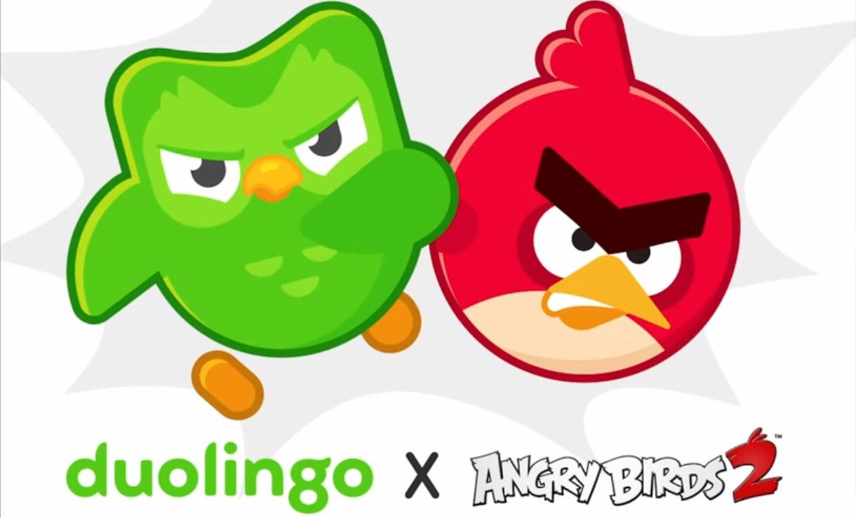 《愤怒的小鸟2》联动《Duolingo》外语学习应用详情
