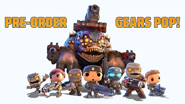 《战争机器》衍伸新作《战争机器 POP!》公开新宣传影片 同步开放预先注册