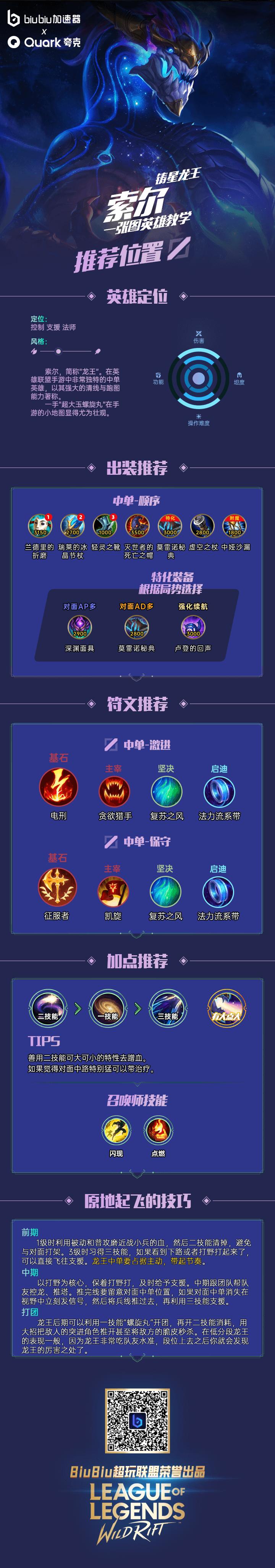 【一图流英雄教学】铸星龙王