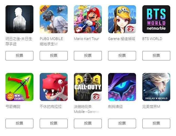 Google Play2019年人气游戏有什么?多款国游入围名单公布